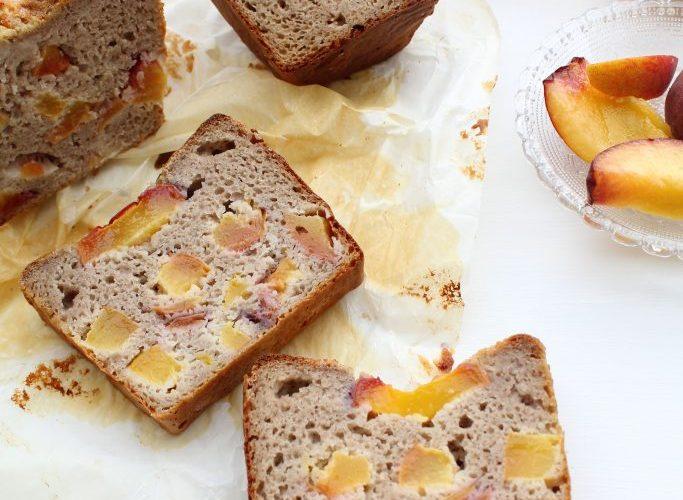 perzik kwarkcake met honing