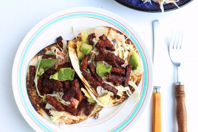 Tempeh taco's