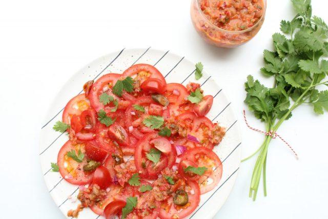 tomaten carpaccio