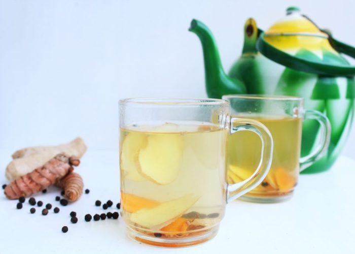 Gember-kurkuma thee0