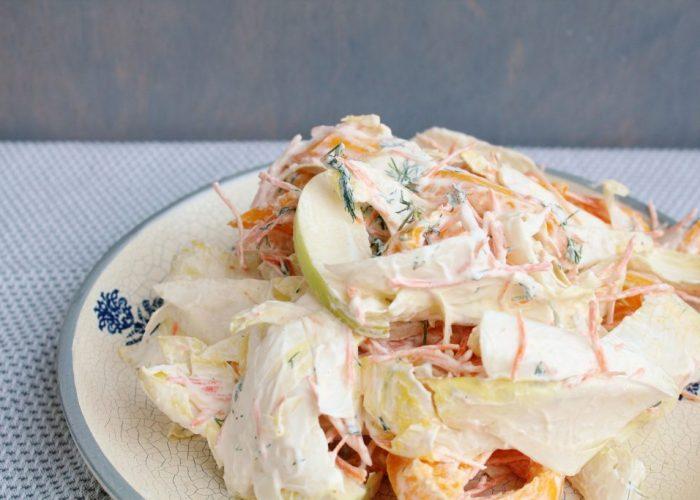 Witlof coleslaw