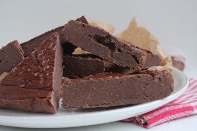 Chocoladetaartje van cannelinibonen