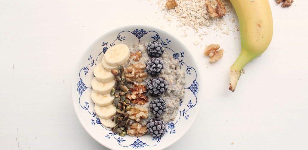 Havermout-chia breakfastbowl