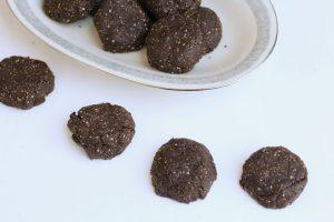 no bake koekjes met cacao