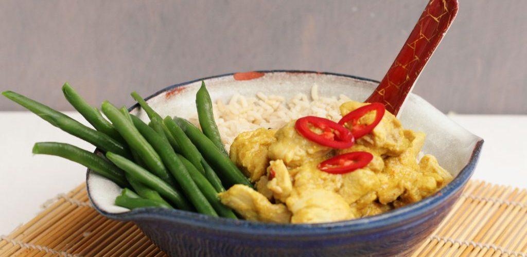 Recept voor kip kerrie
