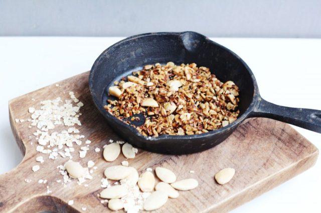 granola met zout