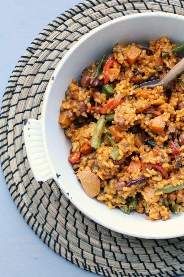 recept voor groentepaella