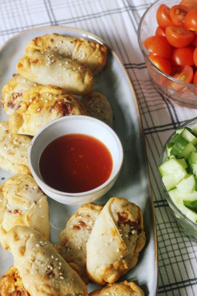 vegetarische empanada's
