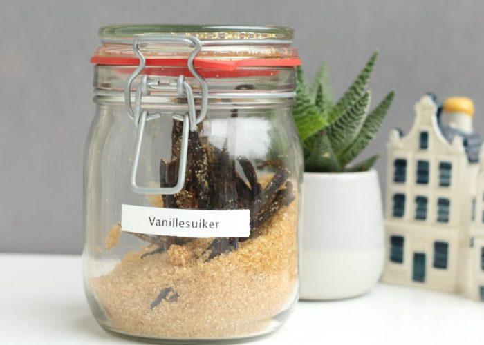 zelf vanillesuiker maken