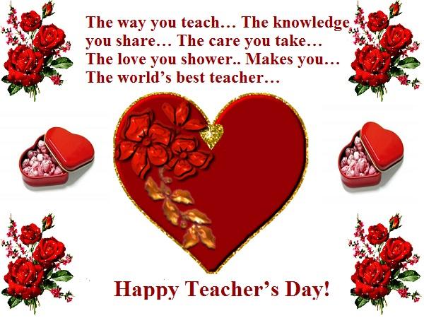 Happy Teachers Day Whatsapp FB DP 2015