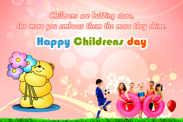 Happy Children day Greetings