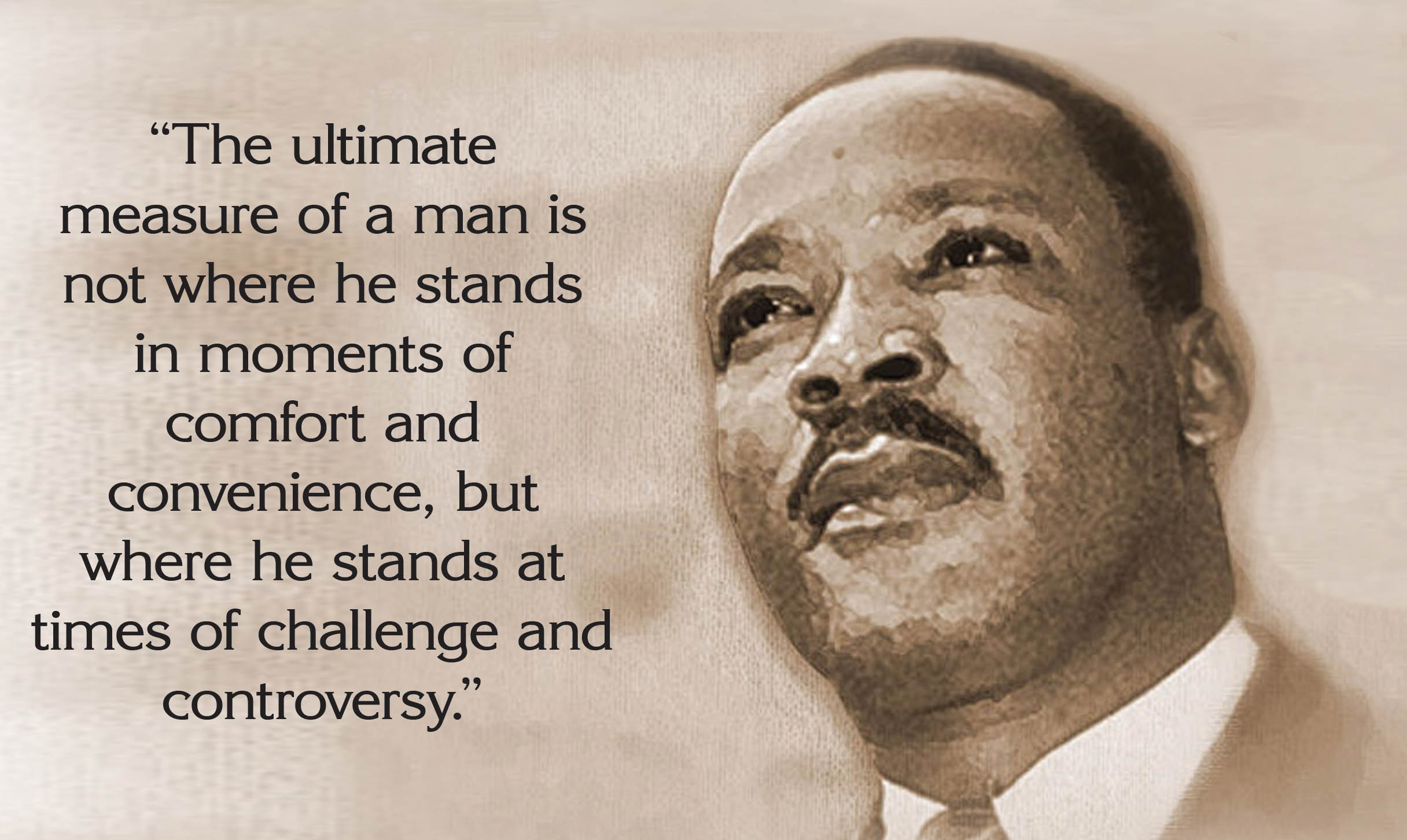 Happy Martin Luther King Jr Day Quotes Slogans