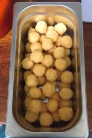 voorbereiding kaasballetjes
