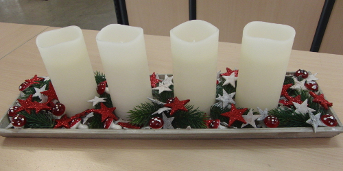 DIY: Adventskranz mal anders ›