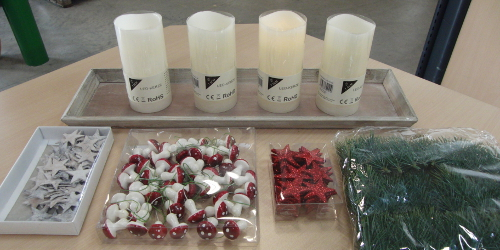 DIY: Adventskranz mal anders › Deko-Ideen24.de Blog