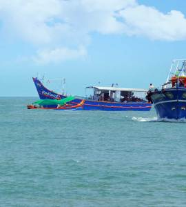 Munambam Beach_Muziris Golden Beach_Fishing Boats, Munambam Beach