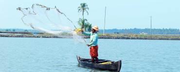 North Paravur - Muziris Heritage Site_Backwater_Fisherman