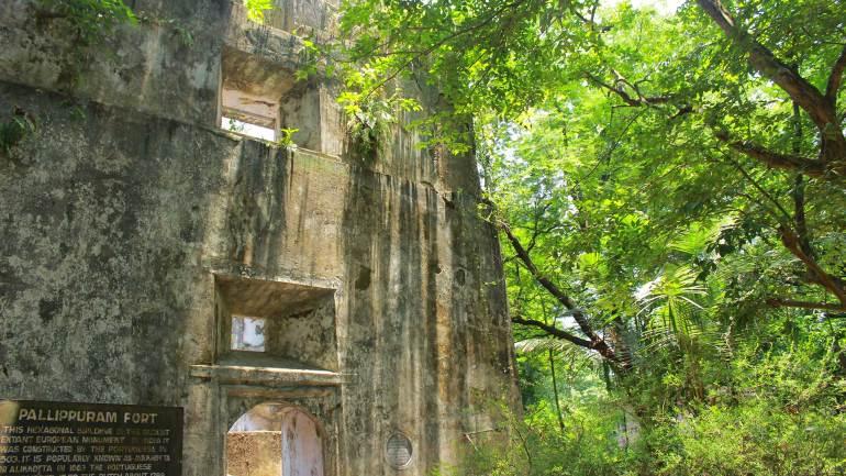 Pallippuram fort_ North Paravur - Muziris Heritage Site
