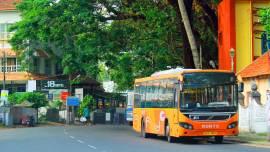 Ernakulam-KURTC-BUS-Service-to-Cochin-International-Airport, Ernakulam City