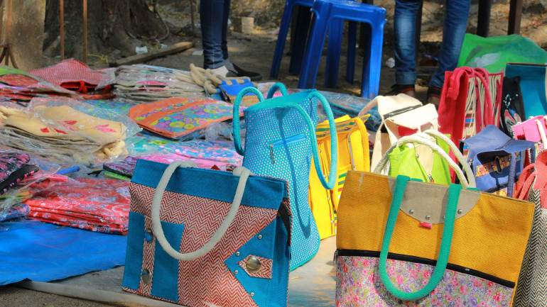 Fort Kochi Beach-Street Venders-Fort Kochi-Beach-Jute Bags