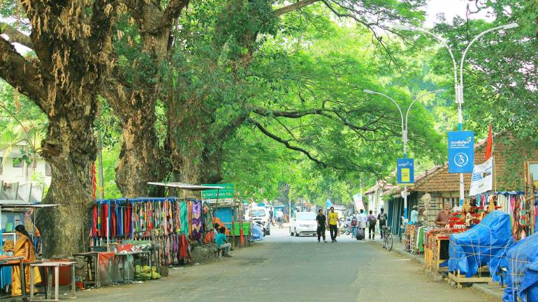 Fort Kochi Beach-Street Venders-Fort Kochi-Beach Road