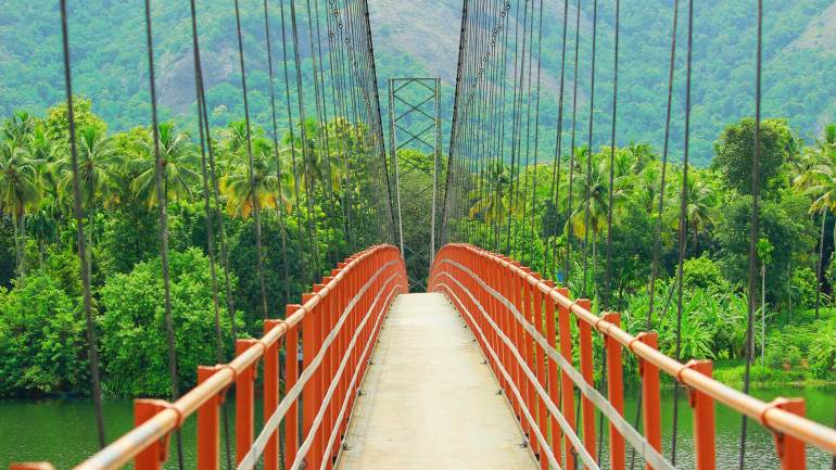 Inchathotty Hanging Bridge , Inchathotty suspension Bridge
