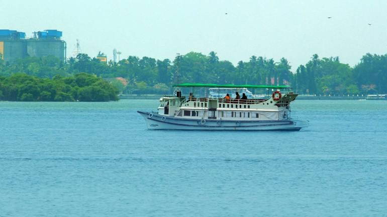 Boating in Kochi Backwater - Marine Drive, Ernakulam, Marine Drive Kochi