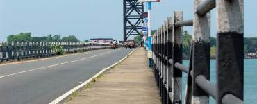 Mattancherry Harbour Bridge - Old Thoppumpady Bridge - Harbour Bridge - Mattancherry