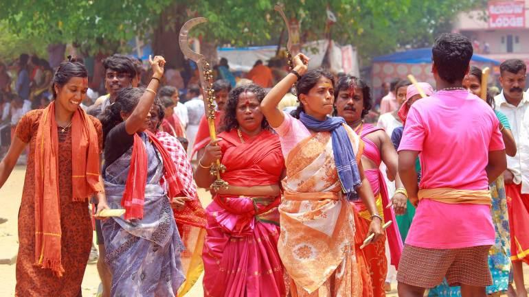 Velichappadu-Oracles- Kodungallur Bharani Festival-Kodungallur-Bhagavathy- Temple, Kodungallur Bharani Festival