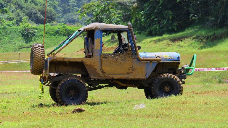 Bhoothathankettu-Fest-(Four-Wheel-mud-race)-Vehicle-after-the-race
