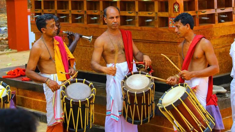 Drum-beats-(Chenda-Melam)-music-beats-for-theyyam-performance