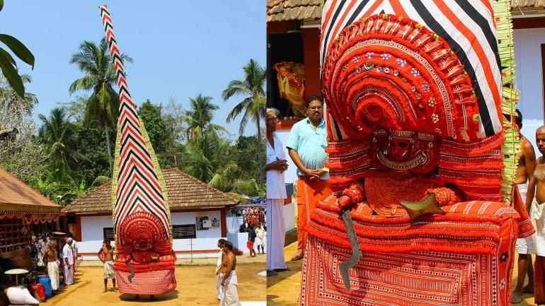 Neeliyar-Bhagavathi-Theyyam-Kappothu-Kavu