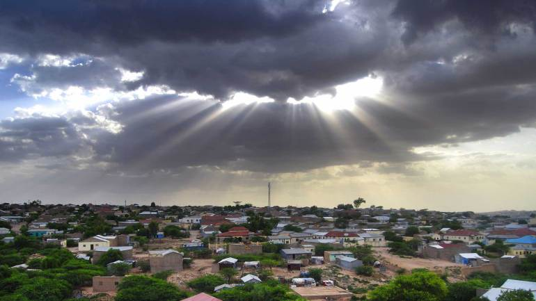 A-cloudy-evening,-Hargeisa-Somaliland
