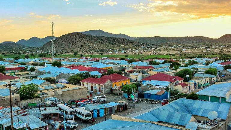 Borama-city-(Boorama)-in-Republic-of-Somaliland-East-Africa