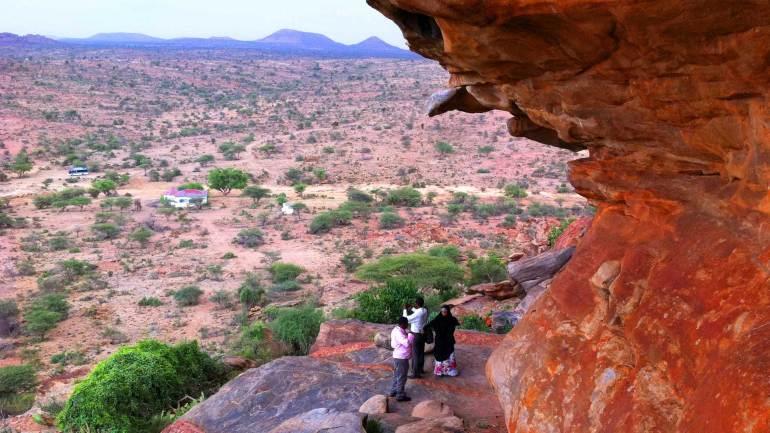 Laas-Geel-rock-exterior-Woqooyi-Galbeed-region,-Hargeisa-Somaliland