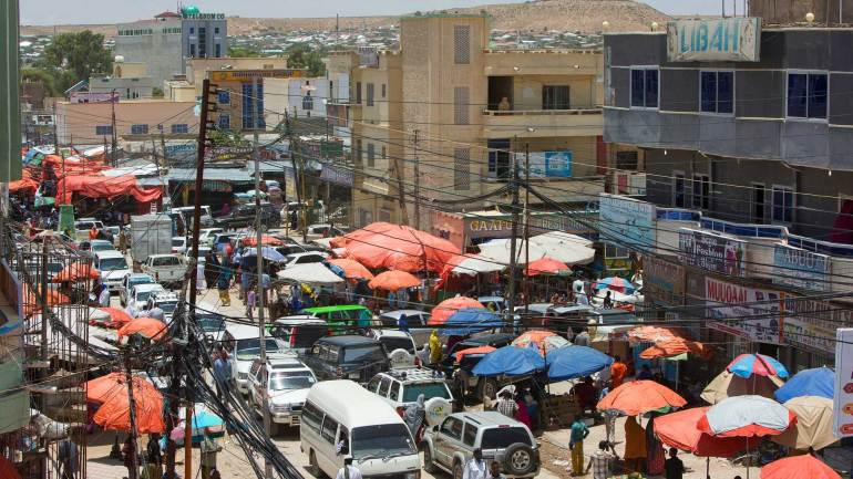 Market-stalls-(Bacadlaha)-in-downtown-area-of-Hargeisa-City-Somaliland