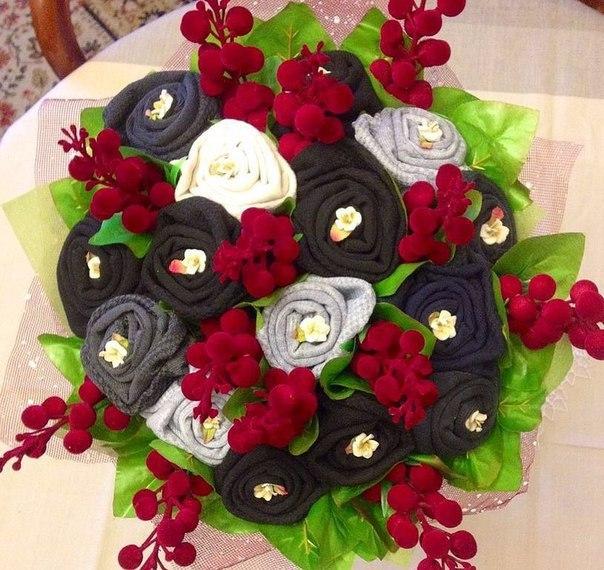 Blumen aus Socken basteln  DekoKing  DIY Bastelideen