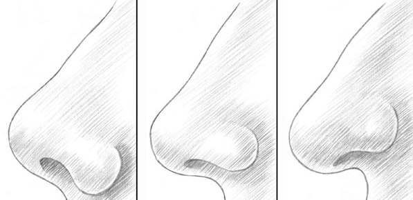 Nase einfach zeichnen  DekoKing  DIY Bastelideen
