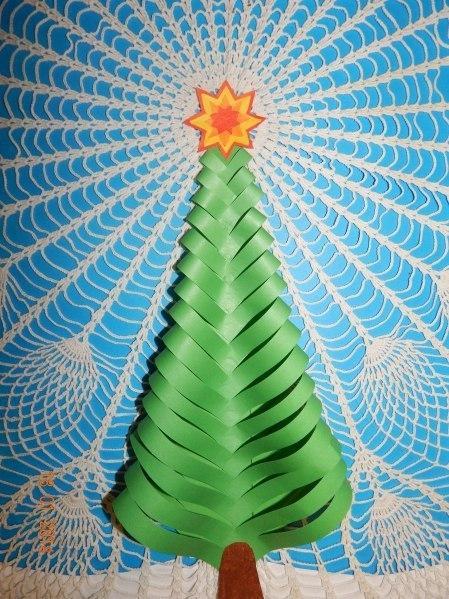 Originellen Weihnachtsbaum aus Papier basteln  DekoKing
