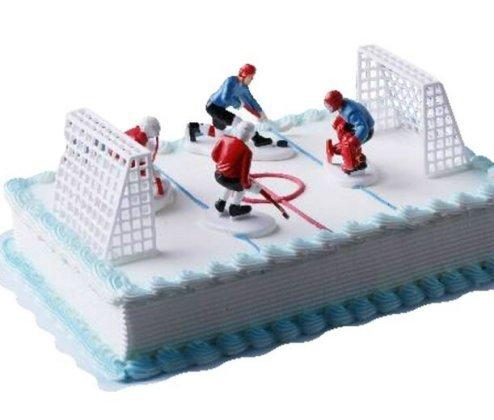 Eishockey Tortendekoration  dekor24 DIMECOdeko