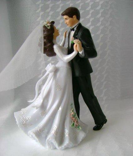 Wilton  tanzendes Brautpaar  dekor24 DIMECOdeko