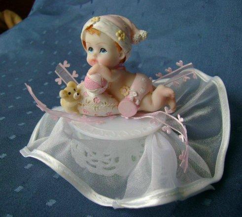 Tortendekoration Baby Mdchen  dekor24 DIMECOdeko