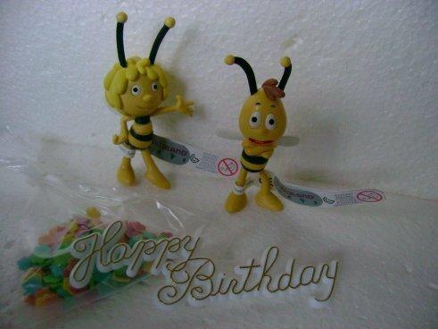 Tortendekoration Biene Maja und Willi  dekor24 DIMECOdeko