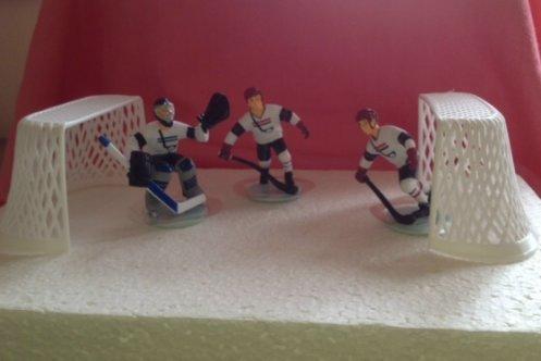 Tortendekoration Eishockey  dekor24 DIMECOdeko