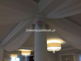 Dekoracje Sal Weselnych i Kościołów Sandomierz i okolice -  - Dekoracja Sali weselnej w Annopolu Wichrowe Wzgórze 6
