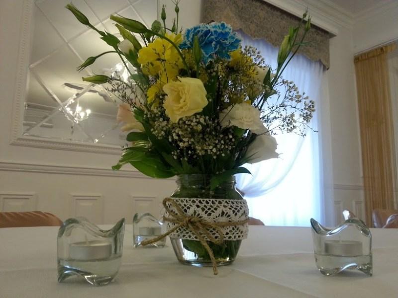 Świeczniki szklane - wypozyczenie-dekoracji, szklo-ozdobne, dekoracja-stolow - sło tea