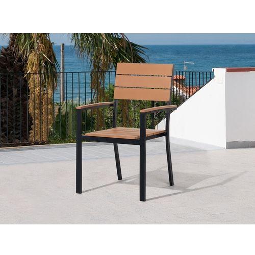 Beliani Krzesło ogrodowe COMO 578555