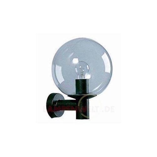 Lampa ścienna czarna z kryształem 4001129