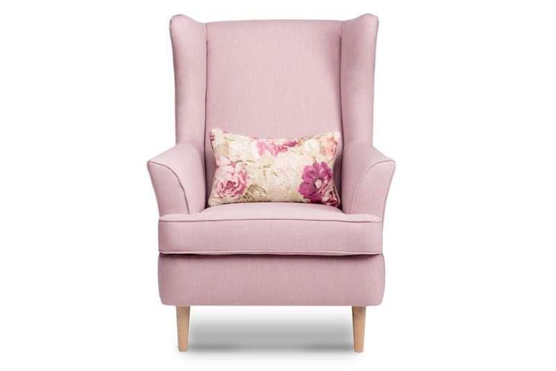 Fotel STRALIS różowy