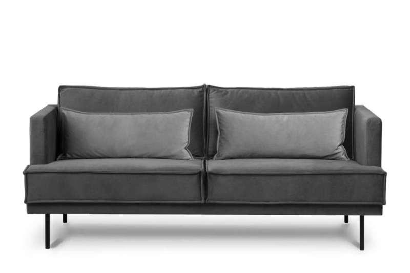 Sofa 3 GANZO *ciemny szary